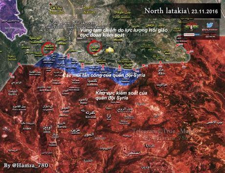 Quan doi Syria bat ngo that bai tren chien truong Latakia - Anh 1
