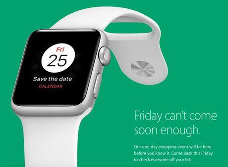 Apple lan dau tham gia ngay hoi Black Friday - Anh 1