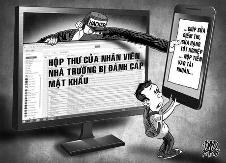 Hacker lua sua diem thi, bang tot nghiep - Anh 1