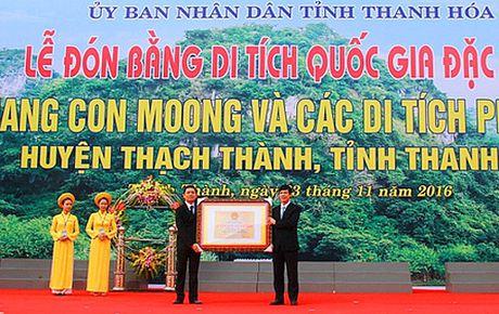 Thanh Hoa: Hang Con Moong tro thanh di tich Quoc gia dac biet thu tu - Anh 1