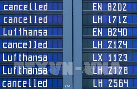 Lufthansa lao dao do tinh trang huy chuyen bay - Anh 1