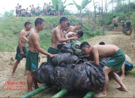 Trung doan 335 dien tap boi vuot song co vu khi - Anh 1