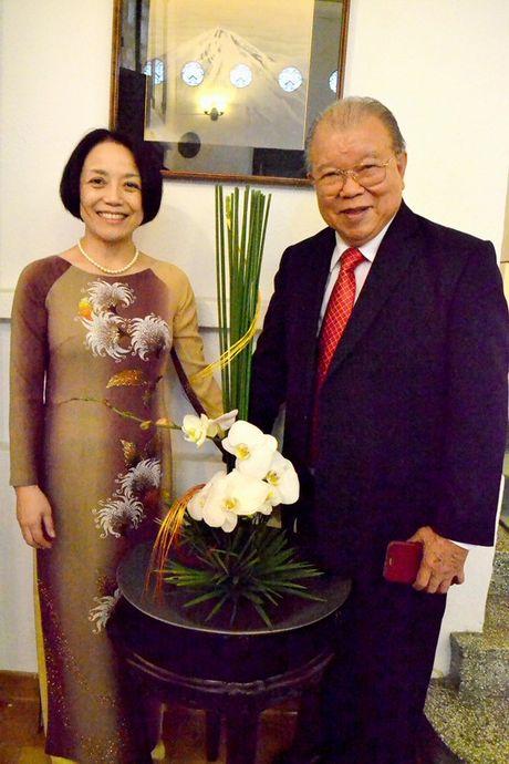 Tong Lanh su quan Nhat Ban vinh danh GS.TS Vo Tong Xuan - Anh 7