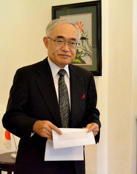 Tong Lanh su quan Nhat Ban vinh danh GS.TS Vo Tong Xuan - Anh 9