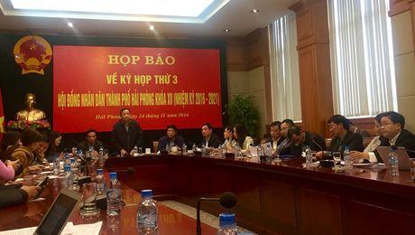 Hai Phong: Lan dau tien UBND se trinh HDND bao cao ve cong tac phong chong tham nhung - Anh 1