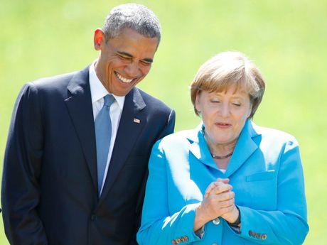 Tong thong Obama va Thu tuong Merkel: Tinh ban con mai - Anh 4
