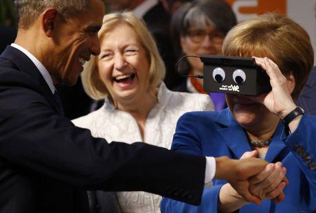 Tong thong Obama va Thu tuong Merkel: Tinh ban con mai - Anh 5