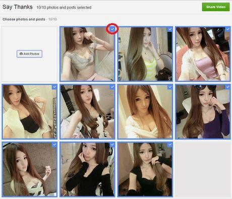 Huong dan cach lam video cam on tren Facebook danh tang ban be, nguoi than - Anh 5