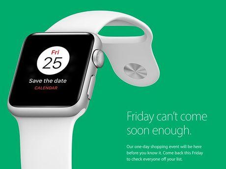 Apple tham gia Black Friday sau 1 nam bo do - Anh 1