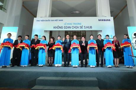 Samsung mang 'Khong gian chia se' cong nghe cao toi Ha Noi - Anh 3