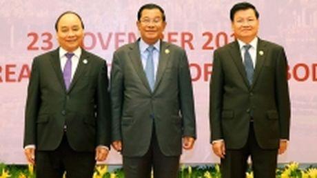 Thu tuong Nguyen Xuan Phuc du Hoi nghi cap cao khu vuc Tam giac phat trien - Anh 1
