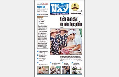Don doc Thoi Nay so 716 phat hanh thu nam, ngay 24-11 - Anh 1
