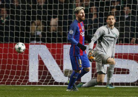 Messi lap cu dup dua Barca vao vong knock-out - Anh 7