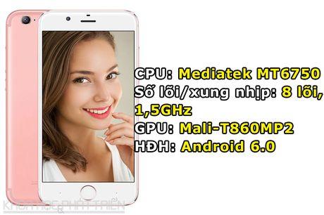 Smartphone dep nhu iPhone 7, camera selfie 13 MP, RAM 4 GB - Anh 1