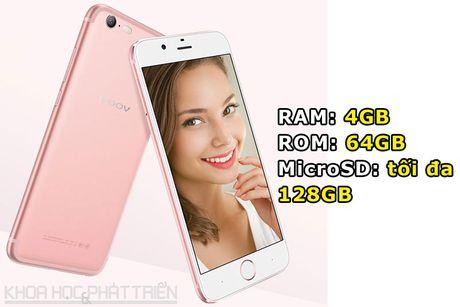 Smartphone dep nhu iPhone 7, camera selfie 13 MP, RAM 4 GB - Anh 2