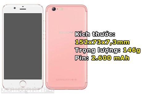 Smartphone dep nhu iPhone 7, camera selfie 13 MP, RAM 4 GB - Anh 3