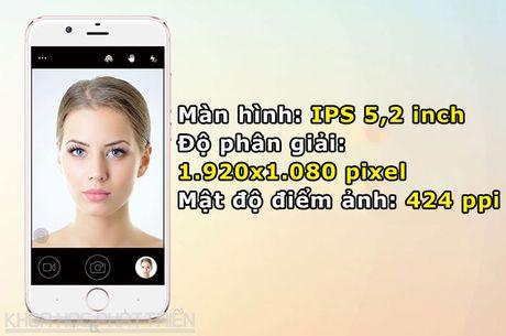 Smartphone dep nhu iPhone 7, camera selfie 13 MP, RAM 4 GB - Anh 5