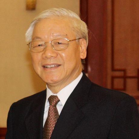 Tong bi thu len duong tham Lao - Anh 1