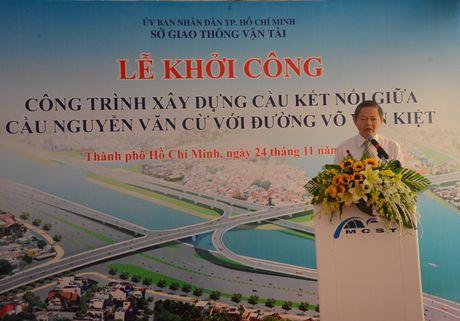 Khoi cong nhanh cau Nguyen Van Cu noi duong Vo Van Kiet - Anh 3