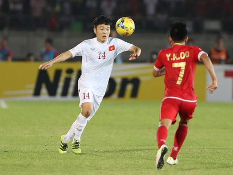 HLV Le Thuy Hai khen Trong Hoang, che Cong Phuong qua yeu - Anh 1