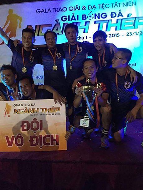 Giai bong da nganh thep lan 2, mua giai 2016 – 2017: 'Thep' lai mo hoi - Anh 1