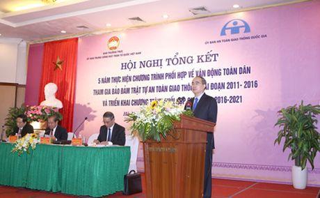 Ong Nguyen Thien Nhan: Tuyen truyen ve ATGT it ton kem nhung hieu qua - Anh 1