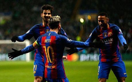 Messi no sung, Barca vuot ai Celtic - Anh 1