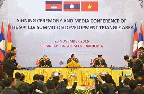 Toan canh: Thu tuong du Hoi nghi cap cao CLV 9 tai Campuchia - Anh 10