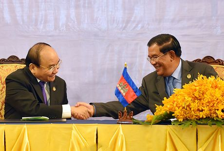 Toan canh: Thu tuong du Hoi nghi cap cao CLV 9 tai Campuchia - Anh 12