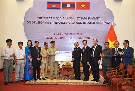 Toan canh: Thu tuong du Hoi nghi cap cao CLV 9 tai Campuchia - Anh 13
