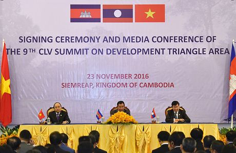 Toan canh: Thu tuong du Hoi nghi cap cao CLV 9 tai Campuchia - Anh 14