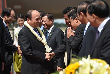 Toan canh: Thu tuong du Hoi nghi cap cao CLV 9 tai Campuchia - Anh 1