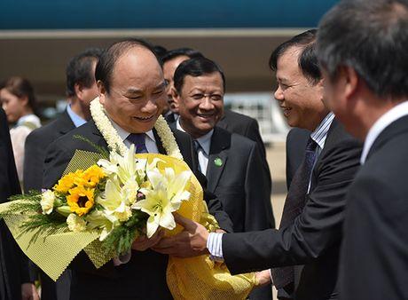 Toan canh: Thu tuong du Hoi nghi cap cao CLV 9 tai Campuchia - Anh 2