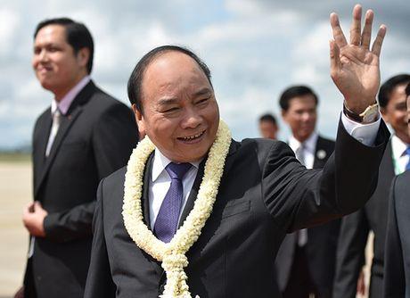 Toan canh: Thu tuong du Hoi nghi cap cao CLV 9 tai Campuchia - Anh 3