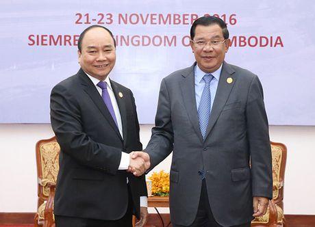 Toan canh: Thu tuong du Hoi nghi cap cao CLV 9 tai Campuchia - Anh 4