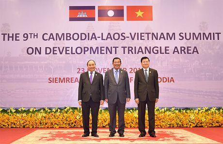 Toan canh: Thu tuong du Hoi nghi cap cao CLV 9 tai Campuchia - Anh 7
