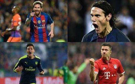 Messi dan dau cuoc dua 'Vua pha luoi' Champions League 2016/2017 - Anh 1