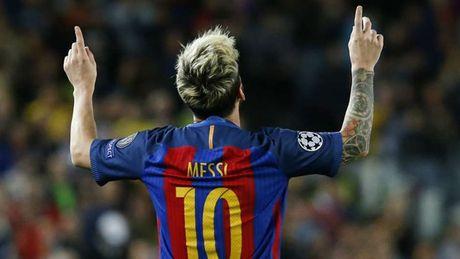 Messi dan dau cuoc dua 'Vua pha luoi' Champions League 2016/2017 - Anh 2