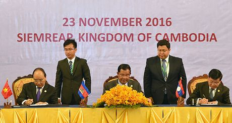 Campuchia-Lao-Viet Nam nhat tri ket noi 3 nen kinh te - Anh 1