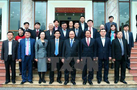 Thu tuong giai dap ve TPP, ong Vu Huy Hoang voi cu tri Hai Phong - Anh 1