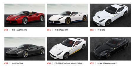 Ngam hinh anh 70 mau xe Ferrari dac biet - Anh 10