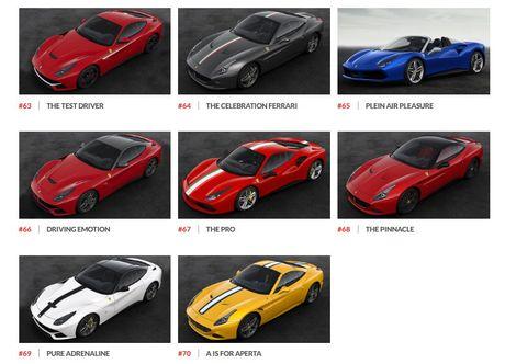 Ngam hinh anh 70 mau xe Ferrari dac biet - Anh 12