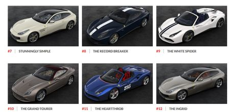 Ngam hinh anh 70 mau xe Ferrari dac biet - Anh 3