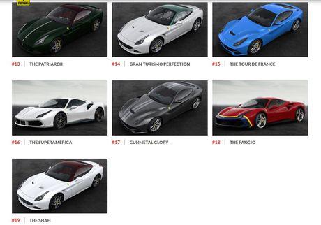 Ngam hinh anh 70 mau xe Ferrari dac biet - Anh 4