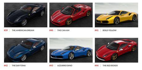 Ngam hinh anh 70 mau xe Ferrari dac biet - Anh 8