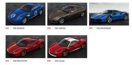 Ngam hinh anh 70 mau xe Ferrari dac biet - Anh 9
