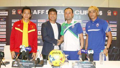 HLV Huu Thang noi gi truoc tran gap Campuchia tai AFF Cup 2016? - Anh 1