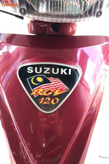Suzuki RGV 120 doi cu dat ngang 'xe hop' tai Sai Gon - Anh 5