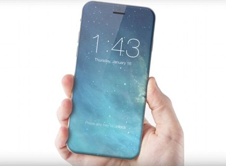 Dien thoai iPhone 8 se co vo hoan toan bang kinh? - Anh 1