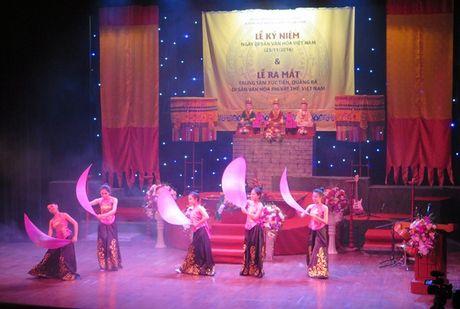 Ra mat Trung tam Xuc tien, Quang ba di san van hoa phi vat the Viet Nam - Anh 1